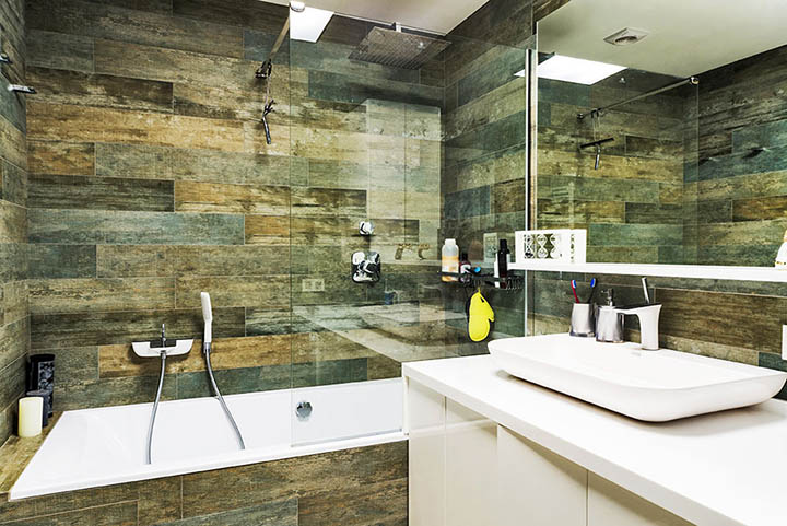 custom bathroom tile quartz countertops top mountsink